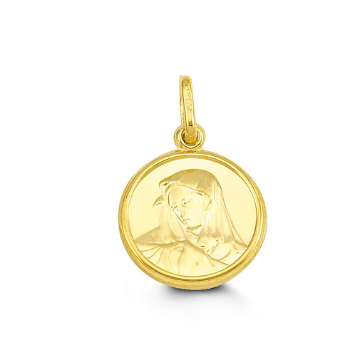 10kt Gold Bella Noah Mother Mary Charm
