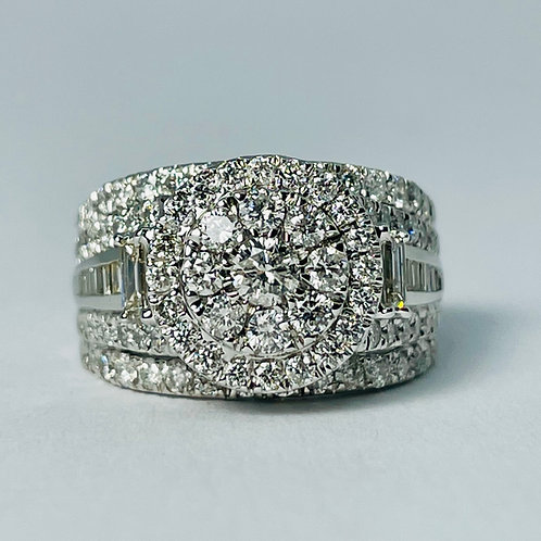 14kt White Gold 2.00ct Engagement Ring