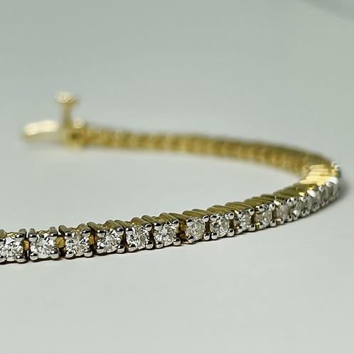 10kt Gold 2.00ctw Tennis Bracelet