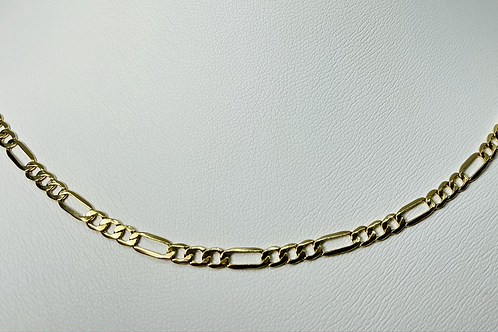 10kt Gold Figaro Chain 3.5mm