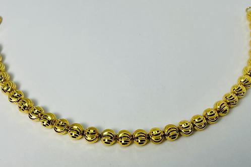 10kt Gold Moon Bracelet