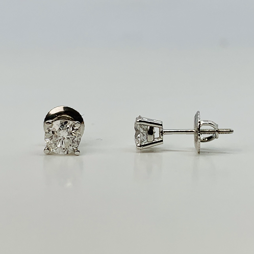 1.00ctw Diamond Stud Earrings - Classic Collection