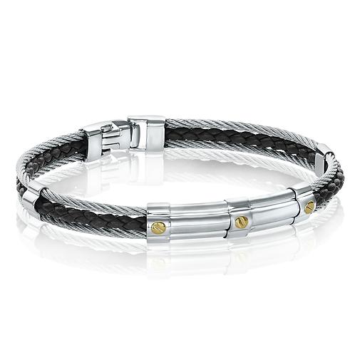 ITALGEM Enzo Cable Bracelet