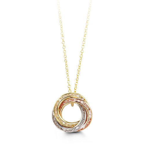 10kt Gold Forever Necklace 3031