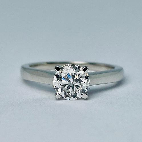 14kt White Gold 1.00ctw Diamond Engagement Ring
