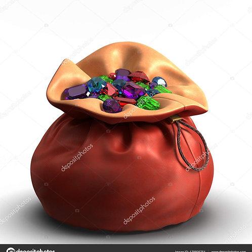 Bolsas de pedras