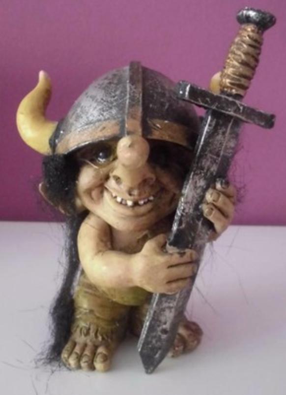 trol noruego, trol escandinavo, verdadero trol, albertina navas