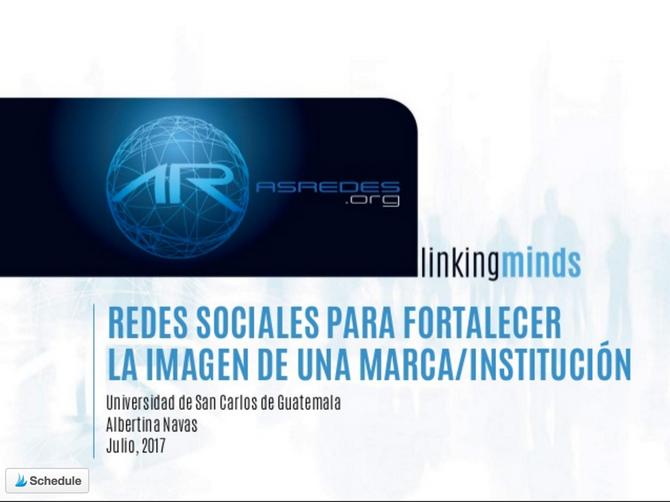 Conferencia: Fortalecimiento de marca a través de redes sociales