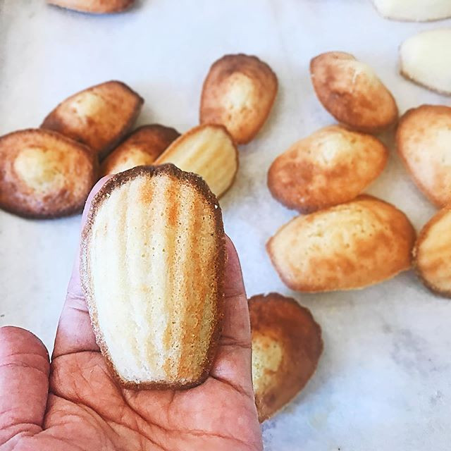 We have madeleines