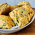 Jalapeño and Chedder Scone