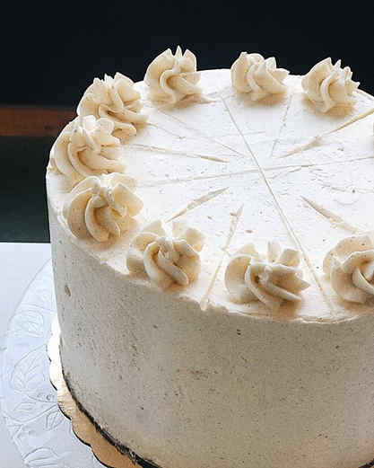 🎂Cake of the day🎂 Lemon cake with a la