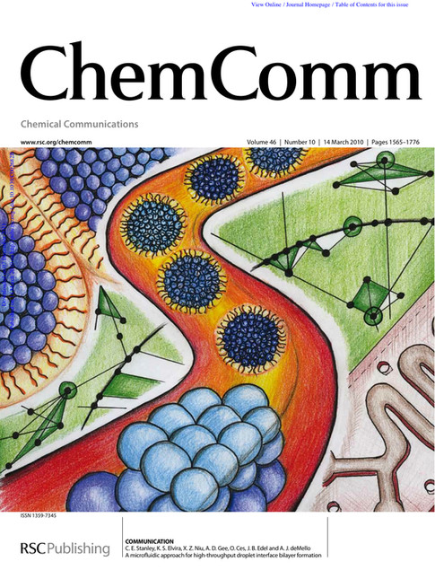 Chemical Communications Cover Art 2010