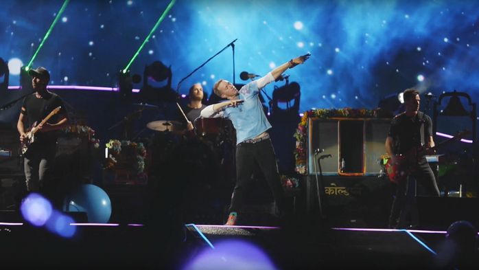 'Head Full of Dreams' - Coldplay Live