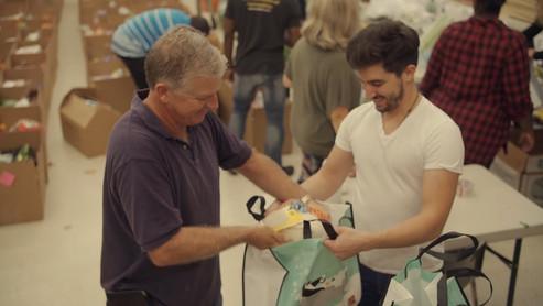 Tony Robbins Annual Basket Brigade