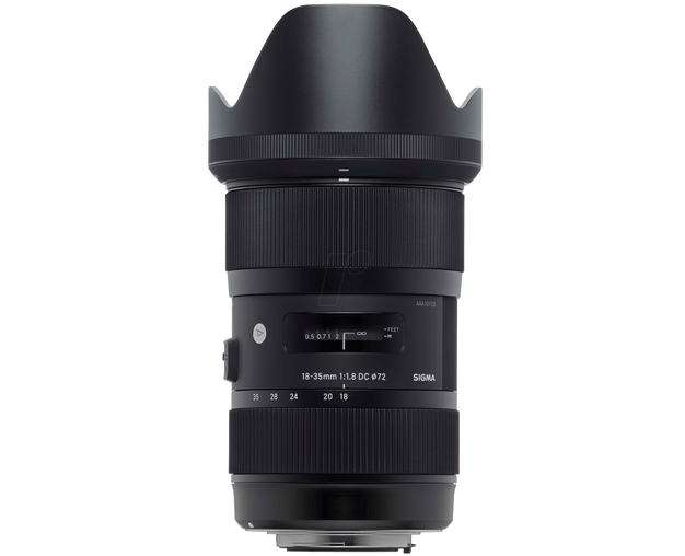 SIGMA ART LENS 18-35MM F1.8