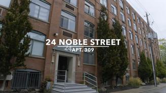 24 Noble St. Apt. 309