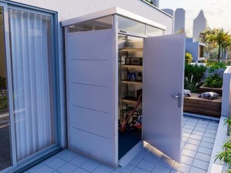כיצד לבחור מחסן למרפסת?