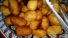 Frittelle di manioca