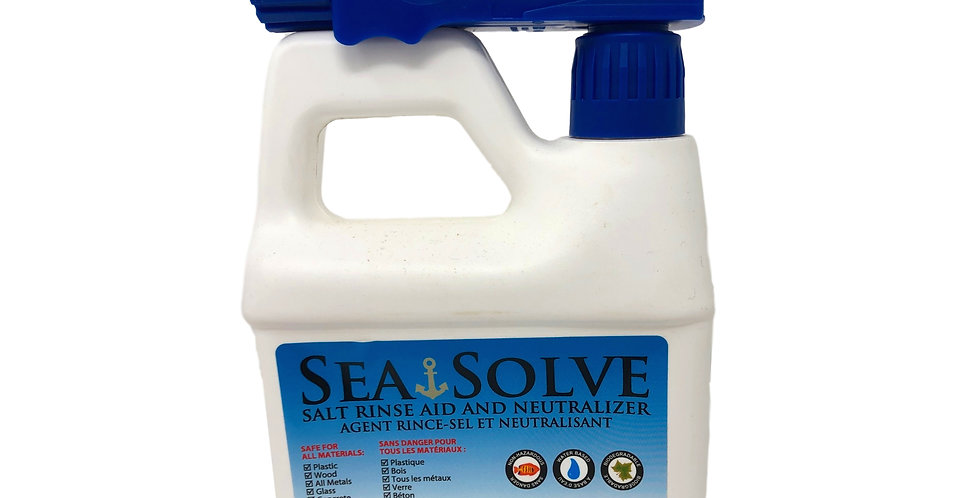 Sea Solve|Salt Neutralizing Wash|Will Not Strip Wax