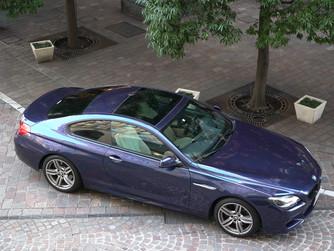 新着!BMW 650i Mクーペ 希少カラー ディープシーブルーが入庫しました!