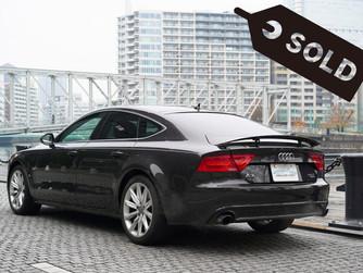 長野県S様 Audi A7スポーツバックをご納車致しました!