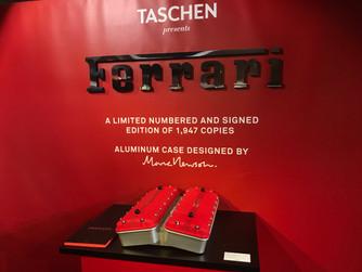 タッシェンから出版されたフェラーリの魅了「Ferrari Art & Collector's Edition」を見に行ってきました!