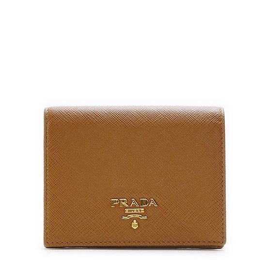プラダ【PRADA】サフィアーノ 二つ折り 財布 マルチカラー