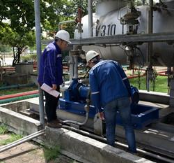 Bangchak Refinery - transfer pump