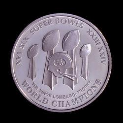 SF 49ers Commemorative coin