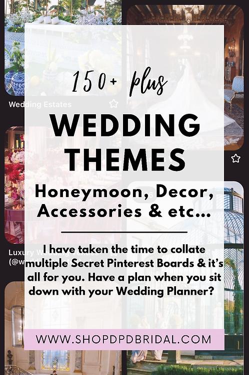 150+ Weddings Inspo, Themes & More Pinterest Boards