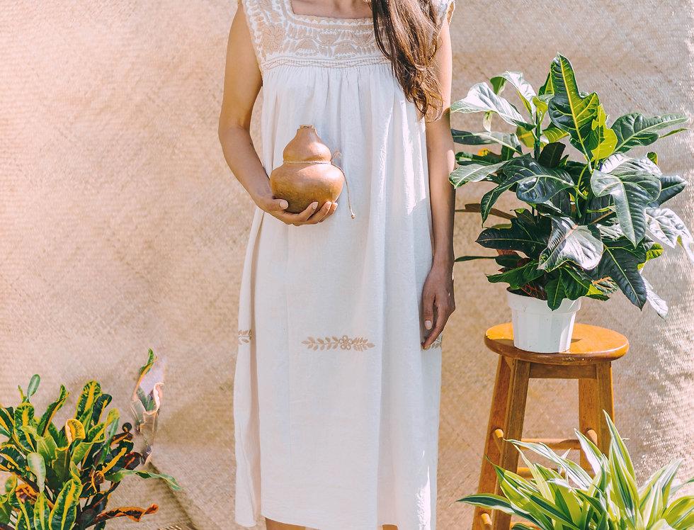 Agua de Luz Dress ( Gold)