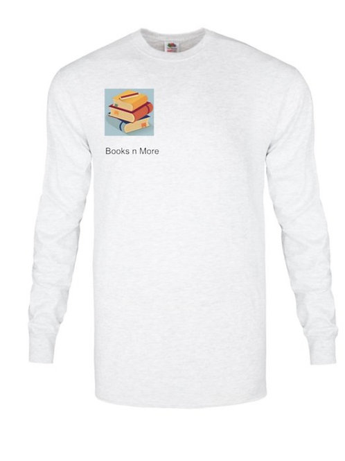 Books n More long sleeve shirt
