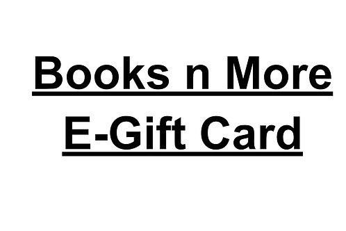 Books n More e-gift card