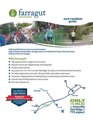 Farragut New Resident Guide_ map page_Pa