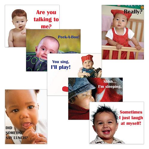 Baby Talk Poster Set