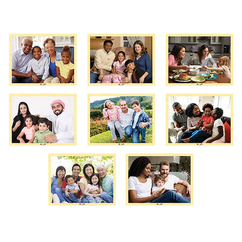 Families of Today Wooden 8-Puzzle Set