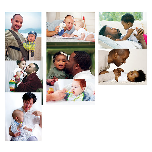 Daddy And Me Poster Set