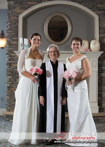 lgbt wedding officiant holly marion winston-salem