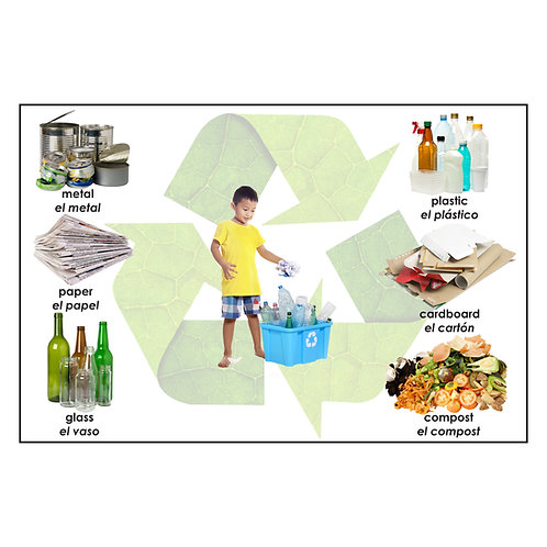 Growing Up Green® / I Can Recycle  Floor Puzzle