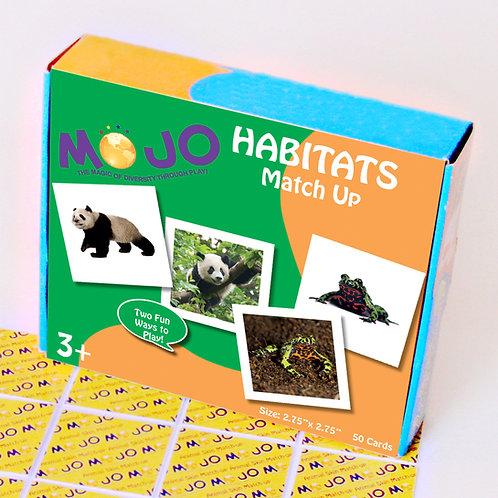 My Habitat Match-Up Memory Cards