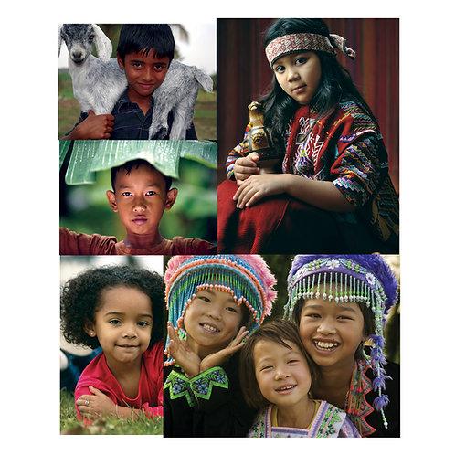 Children of The World Poster Set