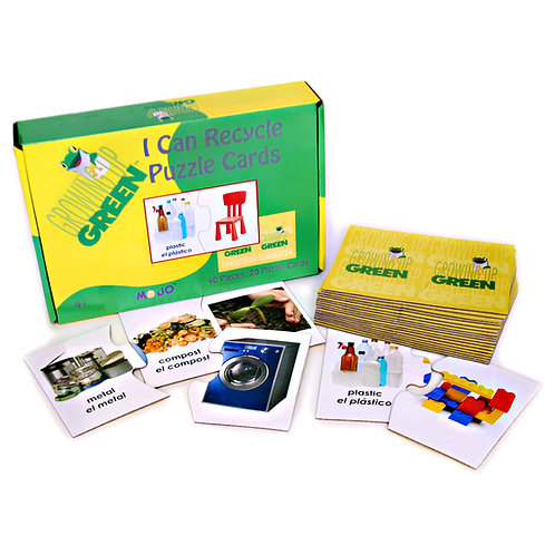 Growing Up Green® / I Can Recycle Puzzle Sequence Cards