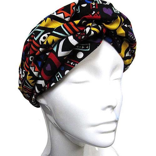 Modern Vintage Twisted Head Wrap
