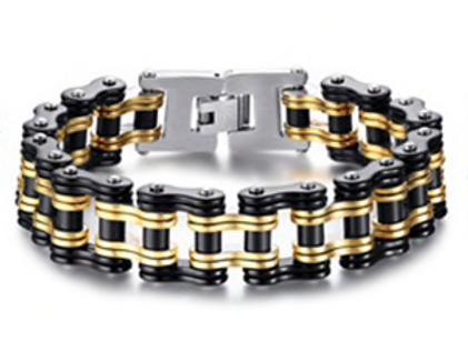 Alpha Phi Alpha Biker Bracelet