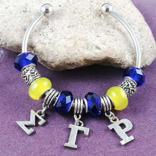 Sorority Bead Bracelet
