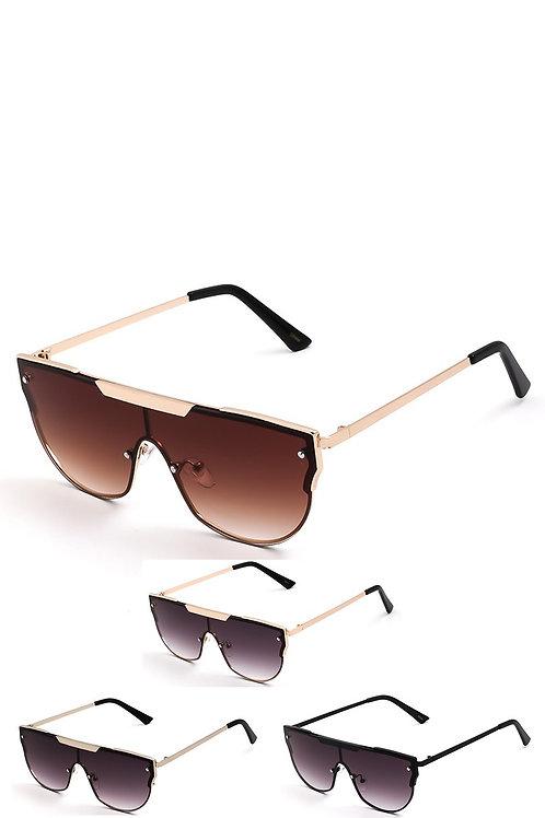 Block Sunglasses w/Microfiber Case Pouch