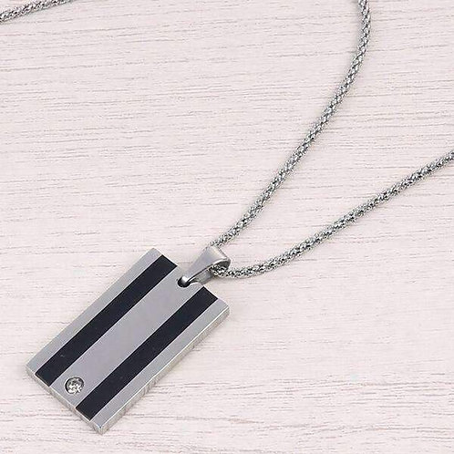 Stainless Tag Necklace MM1
