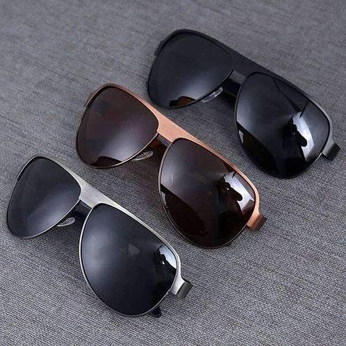 Declan Metal Sunglasses & Microfiber Pouch