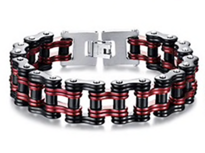 Kappa Alpha Psi Biker Chain Bracelet