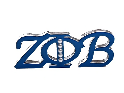 ZPB Sorority Brooch
